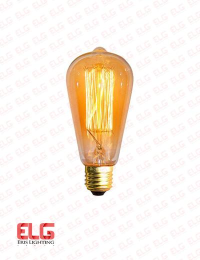لامپ ادیسونی مدل ST64 خطی 40 وات