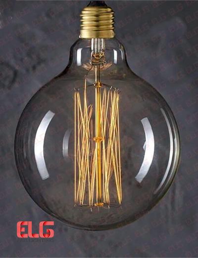 لامپ ادیسونی 40W شیشه شامپاینی LG95