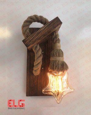 چراغ دیواری چوبی جدید