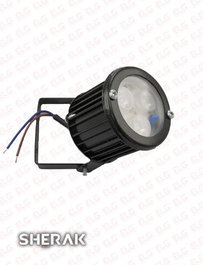 چراغ پروژکتور چمنی 3 وات LED با IP65