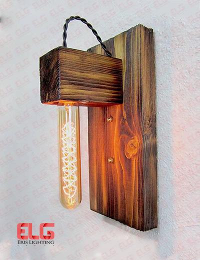چراغ دیواری چوبی 10 w