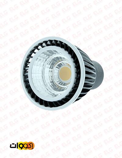لامپ 5 وات هالوژن سی او بی پایه سوزنی اکووات