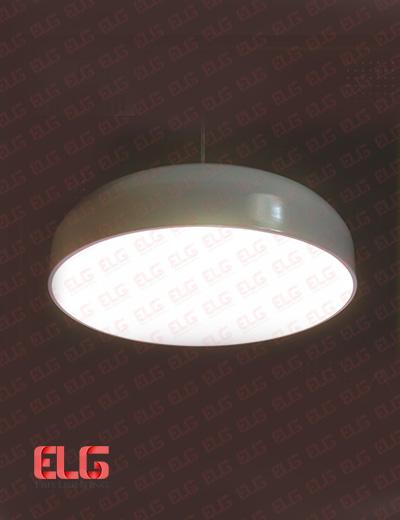 چراغ آویز کلاسیک طلق دار آلومینیومی