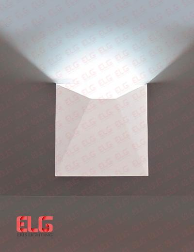 چراغ دکوراتیو دیواری سفید مدل AB0600A