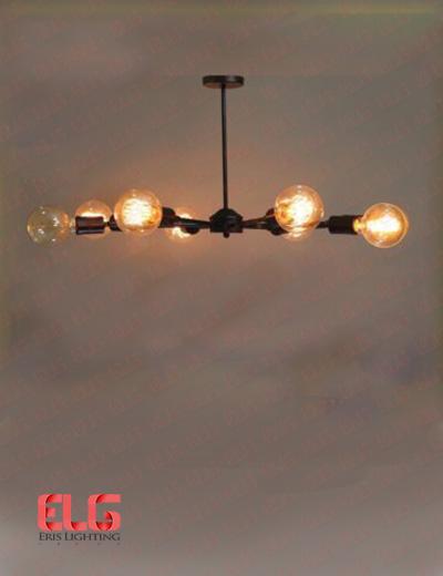 لوستر آویز خورشیدی 8 شعله