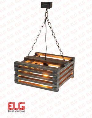 چراغ اویز چوبی M60