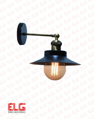 چراغ دیواری فلزی کلاسیک مدل D1156