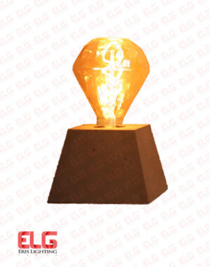 چراغ رومیزی بتنی مدل M201