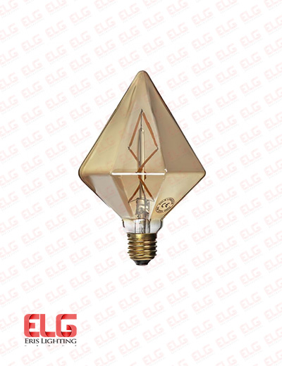 لامپ ادیسونی طرح الماسی E27