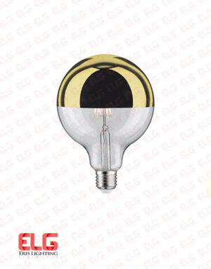 لامپ ادیسونی سر جیوه طلایی ۸ وات فیلمانی G80
