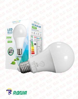 لامپ ال ای دی حبابی 20 وات