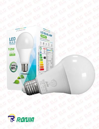 لامپ ال ای دی حبابی 12 وات رونیا