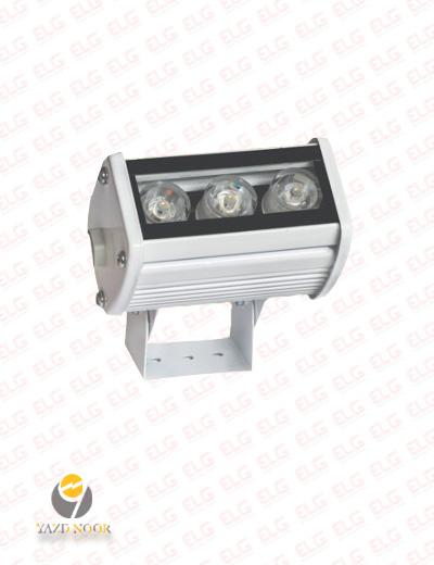 وال واشر ال ای دی نما 3 وات 9 سانتی یزد نور IP67