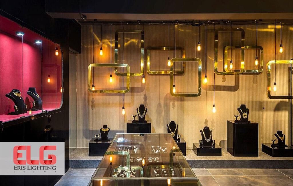 اصول نورپردازی ویترین مغازه