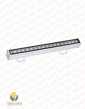وال واشر LED نما 18 وات 49 سانتی یزد نور IP67